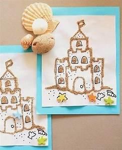 Basteln Sommer Grundschule : bilder mit sand mit kindern basteln dekoking com kreativ pinterest basteln basteln mit ~ Frokenaadalensverden.com Haus und Dekorationen