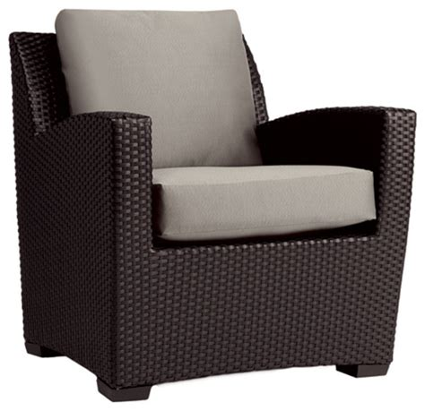 contemporary brown outdoor club chair plushemisphere