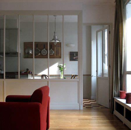 Verriere Interieur Cuisine - verriere intérieur séparation cuisine salon à travers la