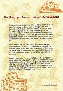 Greatest accomplishment essay creative writing brainstorming