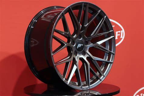 japan racing jr28 japan racing jr28 hyper black alumiinivanteet 10x20 quot 5x108