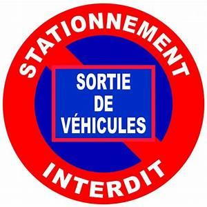 Panneau Interdit De Stationner : panneaux de signalisation contre les stationnements ~ Dailycaller-alerts.com Idées de Décoration