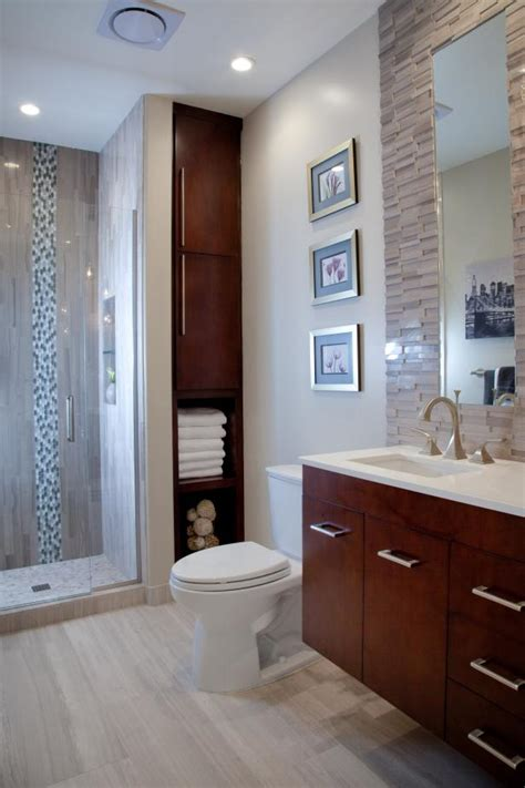 contemporary bathroom  floating vanity  custom