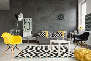 Grau Blaue Wand : wohnzimmer einrichten in grau wei ~ Watch28wear.com Haus und Dekorationen