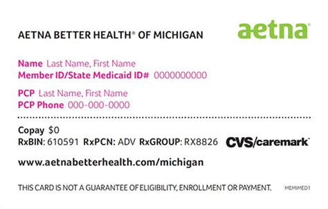 mdhhs aetna better health of michigan medicaid pharmacy