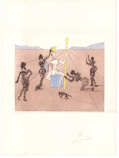 salvador dalí werke salvadore dal 237 print don quijote the golden helmet of