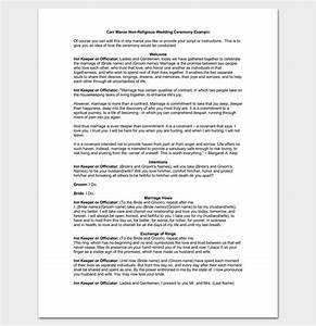 Non religious wedding ceremony outline shenandoahweddingsus for Non religious wedding ceremony outline