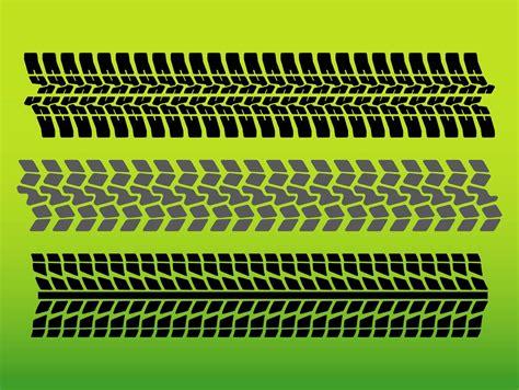 Tire Tracks Vector Art & Graphics