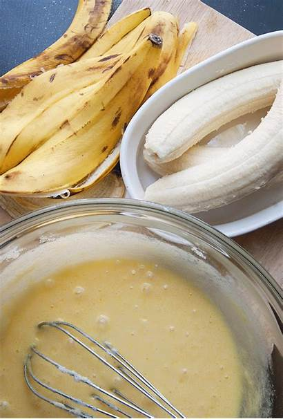 Banana Bread Chocolate Batter Swirl Caramel Making