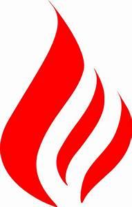 Red Flame Clip Art at Clker.com - vector clip art online ...