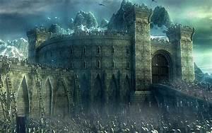 Fantasy, Castle, Wallpaper, Hd