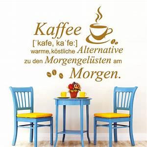 Alternative Zu Gardinen Am Fenster : spruch kaffee mit kaffeetasse i wandtattoo ~ Sanjose-hotels-ca.com Haus und Dekorationen