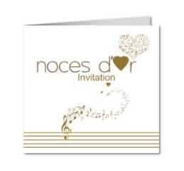 texte invitation anniversaire de mariage carte invitation anniversaire de mariage noces d or partition notes de musique ceremonies