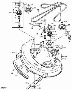 Wiring Diagram  28 John Deere X300 Deck Belt Diagram