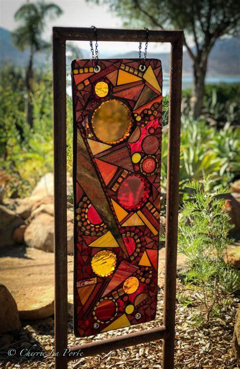 outdoor glass sculpture cherrie laporte