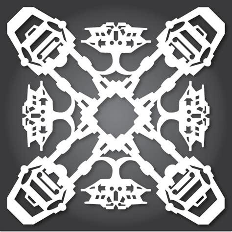 star wars snowflake wars 2013 collection anthony herrera designs