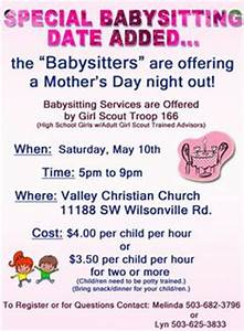 Babysitter Flyer Sample 24 Best Babysitting Flyers Images In 2014 Babysitting