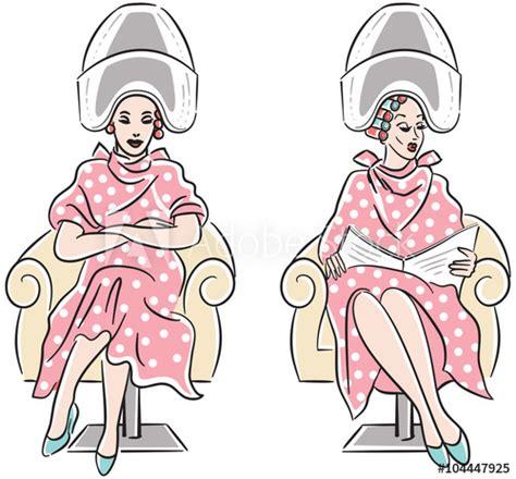 hair salon drawing  paintingvalleycom explore