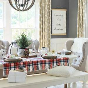25 best ideas about christmas dining rooms on pinterest With kitchen cabinets lowes with jewish holiday candle holder