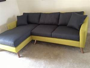 dane 90quot sectional sofa by truemodern smart furniture With 90 x 90 sectional sofa