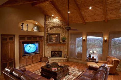 ravishing living room designs  corner fireplace