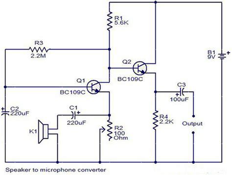 Mini Microphone Circuit Using Bcc Electronic