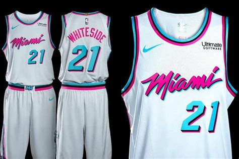 heat unveil  miami vice inspired city edition