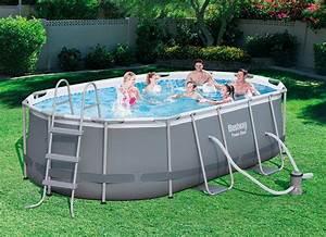 Piscine Tubulaire Oogarden : piscine tubulaire ovale 4 24 x 2 50 x 1 00 m oogarden france ~ Premium-room.com Idées de Décoration