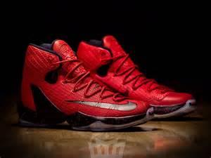 LeBron 13 Nike Elite Red
