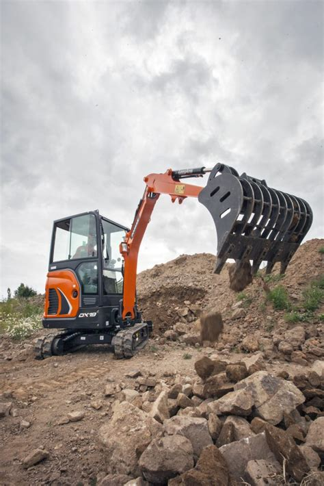 doosan dx mini excavator gordons construction