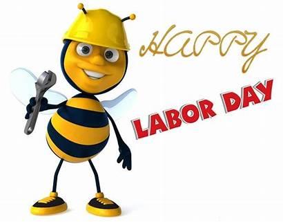 Labor Labour Clip Clipart Happy Bee 3d