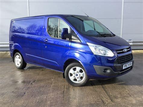 ford transit custom  limited lr pv blue
