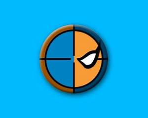 The gallery for --> Deathstroke Mask Symbol