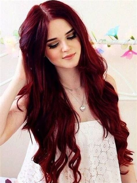 30 Best Dark Red Brown Hair Color Shades You Should Try