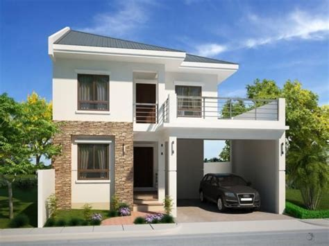 perfect sample house designs  floor plans   philippines  review   simple