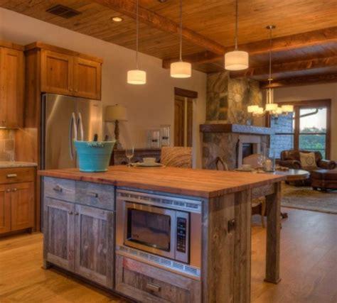 rustic kitchen island reclaimed wood rustic kitchen islands buzzard