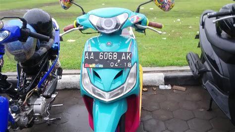 Tailok Mio Smile by Modifikasi Mio Smile Racing Terkeren Dan Terbaru