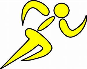 Runner Yellow Clip Art at Clker.com - vector clip art ...