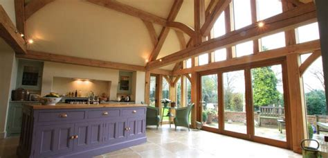 oak framed house stone oak extensions natural structures