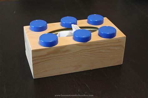 que faire avec une boite de mouchoir vide diy une bo 238 te 224 mouchoirs 171 lego 187 les aventures du
