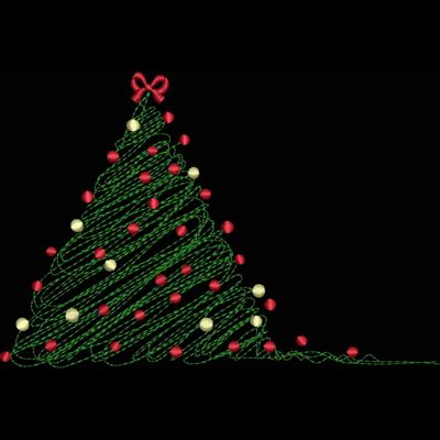 bin scribble christmas tree kreations by kara