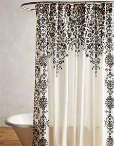 Rideau Salle De Bain : tissu pour rideau de douche my blog ~ Dailycaller-alerts.com Idées de Décoration