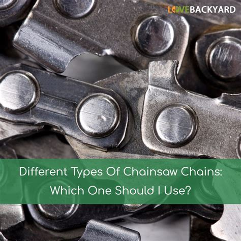The gallery for   > Chainsaw Chain Types