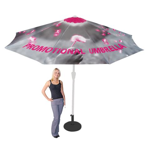 promo patio umbrella outdoor events custom printed graphic