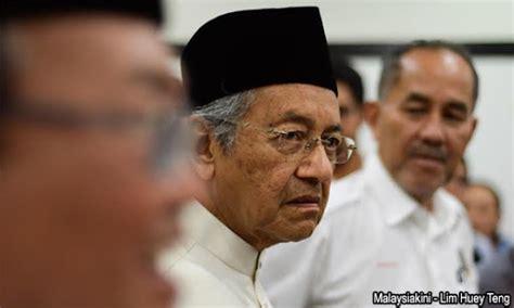 mahathir meradang pm malaysia diduga terlibat skandal korupsi