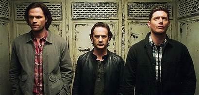 Gabriel Supernatural Sam Elevator Winchester Alive S13