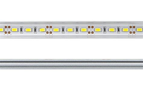 aluminum led light bar fixture low profile surface mount