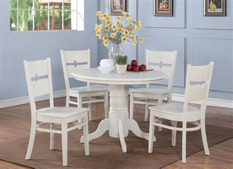 round kitchen table with 4 chairs 5 pc shelton 42 in round kitchen dinette table 4 chairs