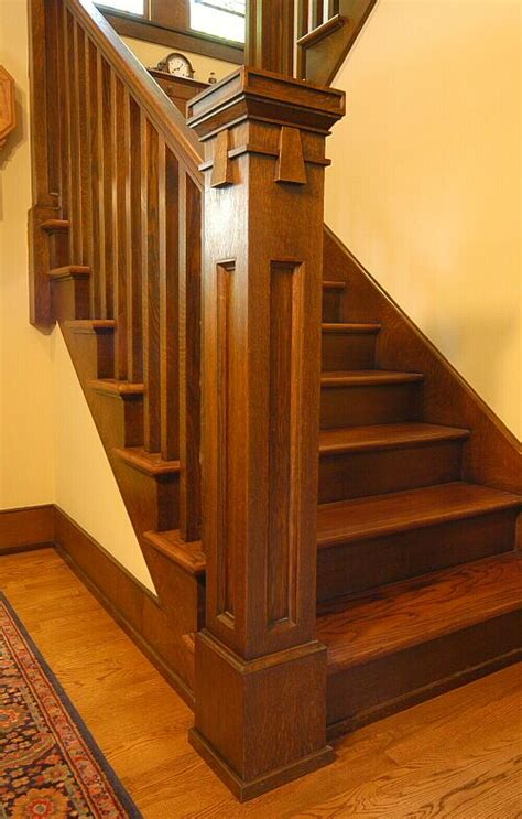 newel post custom arts crafts millwork  el dorado