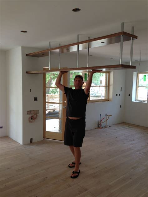 kitchen cabinets hanging from ceiling unique hanging kitchen shelves 6 kitchen cabinets hanging 8058